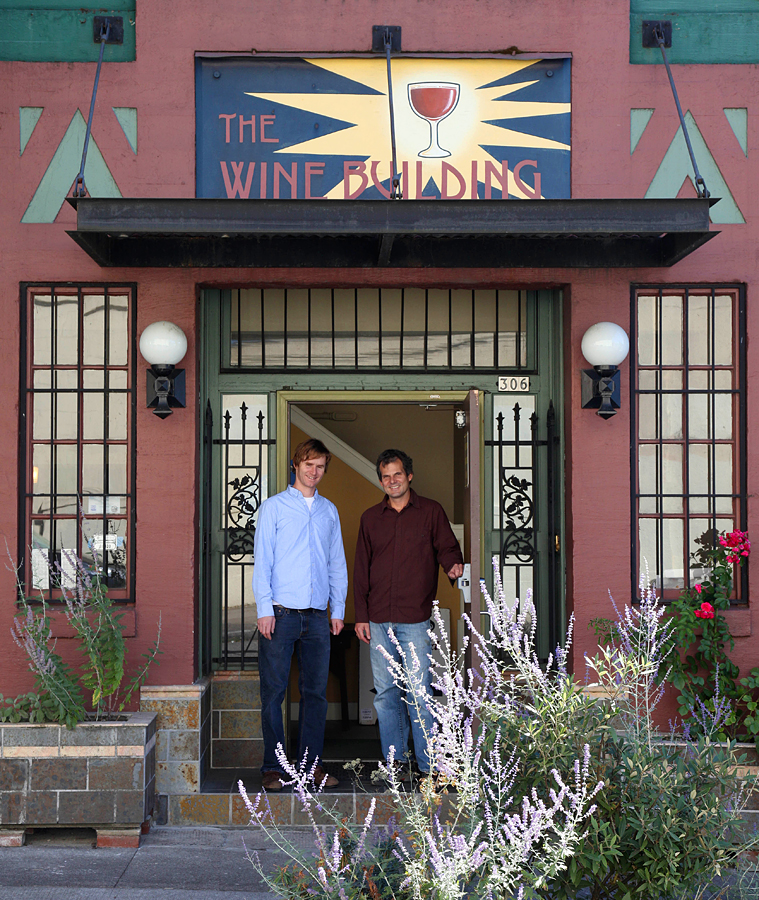 Joe and Tom, Owners of Portland Wine Storage