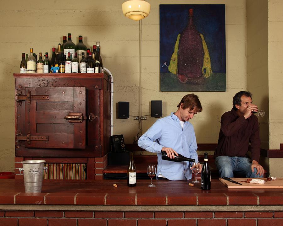 Joe and Tom, Owners of Portland Wine Storage