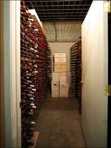 Walk in rooms - Portland Wine Storage