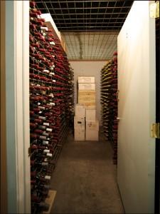 Walk in rooms - Portland Wine Storage